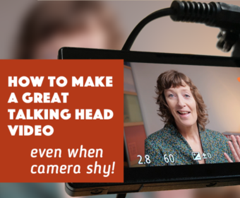 How to make a great talking head video